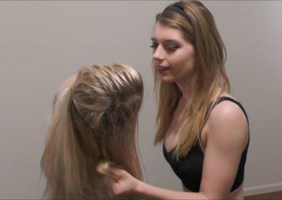 Hairpull - Callisto Strike vs Monroe Jamison - Monroe's Nightmare - (SCRIPTED)