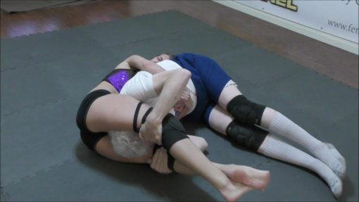 Headscissors - Callisto Strike and Monroe Jamison vs Chuck - #2 - 2018 - Mixed Wrestling