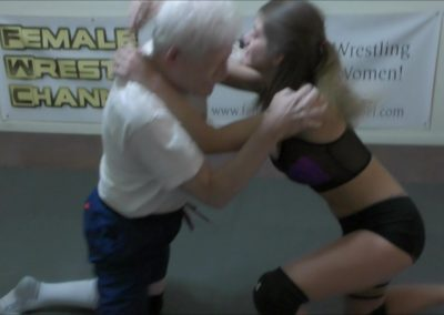 Callisto Strike and Monroe Jamison vs Chuck - #2 - 2018 - Mixed Wrestling