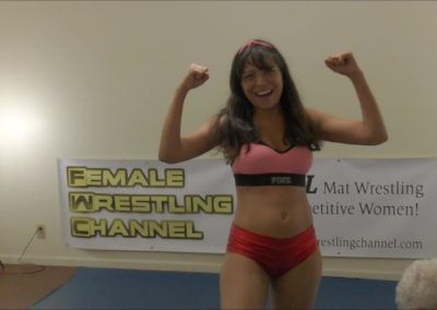 Angelina Edge and Callisto Strike vs Chuck - Competitive Mixed Wrestling - 2017