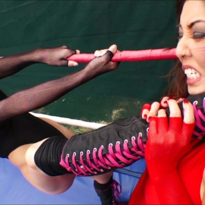 Akira Lane vs Tanya Danielle - Female Pro Wrestling!