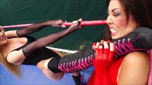 Akira Lane vs Tanya Danielle - Female Pro Wrestling!