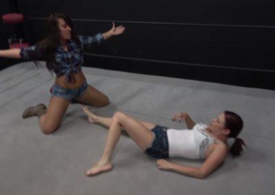 Allie Parker vs Sarah Brooke - Women's Pro Wrestling