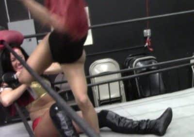 Aria Blake vs Santana Garrett - Pro Women's Wrestling