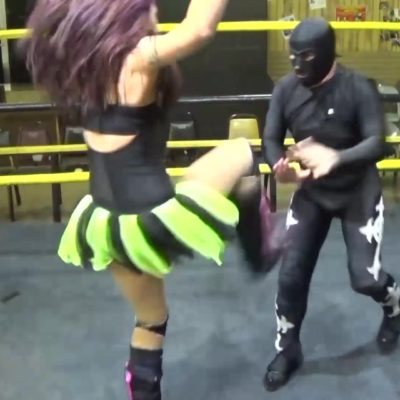 Nikki Lane vs Arkansas Terror - Intergender Pro Wrestling!