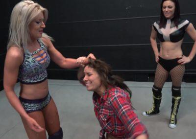 Allie Parker vs Ray Lyn - Women's Pro Wrestling
