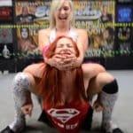 Camel Clutch - Heather Monroe vs Jessie Belle - Women's Pro Wrestling!