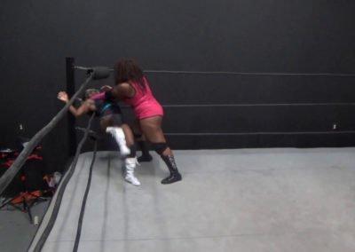 Dementia D'Rose vs Luscious Latasha - Ebony Pro Wrestling!