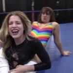 Bodyscissors - Allie Parker vs Buggy Nova - I Quit Match - UWW Wrestling