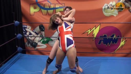 Full Nelson - Anarchy vs Candy - Wrestling Castle - (REAL)
