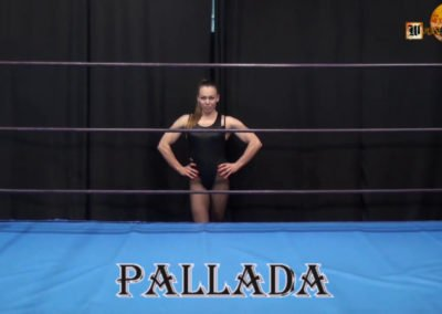 Pallada vs Valkyr - Russian Women Wrestling