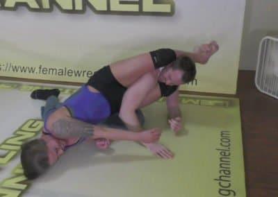 Mixed Wrestling - Carmella Ringo vs Johnny RIngo - 2019