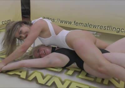 Full Body Press - Kings and Queens - Part 2 - Monroe Jamison vs Sunny Vixen - 2019