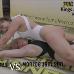 Sunny Vixen full body pin on Monroe Jamison - Kings and Queens - Part 2 - 2019 - Scripted Women's Wrestling!