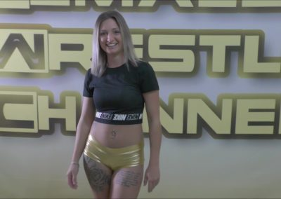 Athena Fox - Female Wrestler - 2019