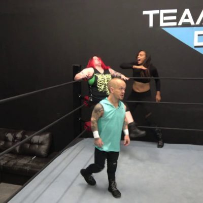Enigma and Kaci Lennox vs Kathy Owens - 2 on 1 Intergender Pro Wrestling