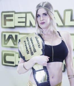 Women who Wrestle - Monroe Jamison - Female Wrestling Channel Champion - 2019