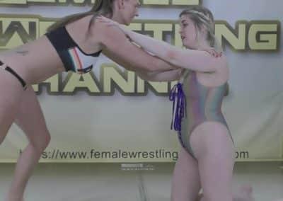 Introducing Lela Crush - vs Monroe Jamison - Women's Wrestling Training - 2020