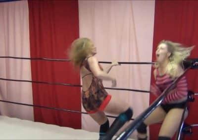 Amber O'Neal vs Tasha Simone - Cherry Bomb Wrestling
