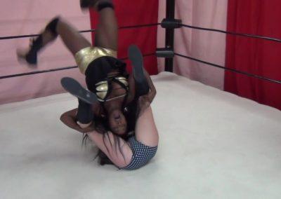 Christie Ricci vs Josie - Woman's Pro Wrestling
