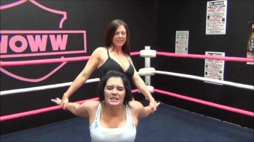 Christie Ricci vs Jessicka Havok - In Ring Pro Wrestling!
