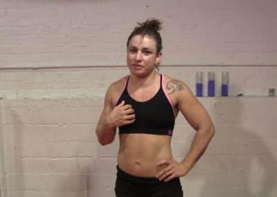 Hanz Vanderkill vs Kaysha Brazil - Part 2 - Competitive Mixed Wrestling!