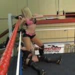 Booty Bop - Amber O'Neal vs Melissa Coates - Cherry Bomb Wrestling