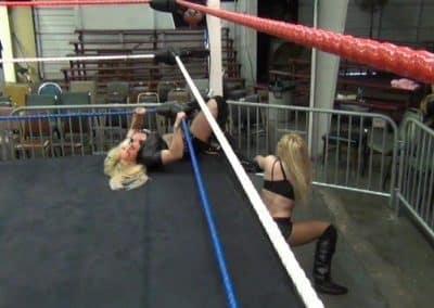 Amber O'Neal vs Melissa Coates - Cherry Bomb Wrestling