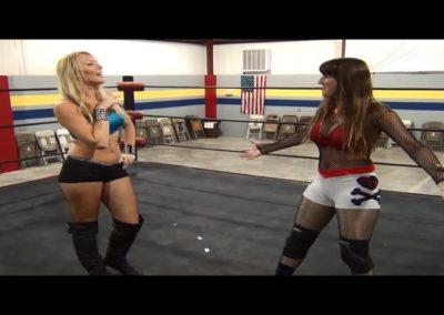 Amber O'Neal vs Sin-D - Female Pro Wrestling