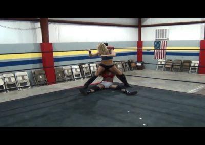 Booty Bop - Amber O'Neal vs Sin-D - Female Pro Wrestling