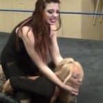 Amber O'Neal vs Taeler Hendrix - Cherry Bomb Wrestling