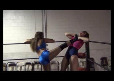 Christie Ricci vs Sin-D - Women's Pro Wrestling - Cherry Bomb Wrestling