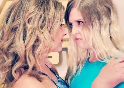 Staredown - Buffy Ellington vs Monroe Jamison - #2 - 2020 - The Female Wrestling Channel