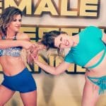 Hairpulling - Buffy Ellington vs Monroe Jamison - #2 - 2020 - The Female Wrestling Channel