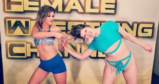 Hairpulling - Buffy Ellington vs Monroe Jamison - #2 - 2020 - The Female Wrestling Channel