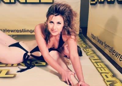 Crossbody Pin - Buffy Ellington vs Monroe Jamison - #1 - 2020 - The Female Wrestling Channel