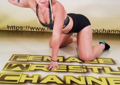 The Better Woman - Buffy Ellington vs Holly Hurt - The Female Wrestling Channel