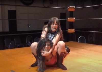 Allie Parker vs Kayla Kassidy - Ultimate Women Wrestling