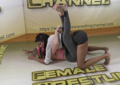 Bodyscissors - Introducing Sasha Subdue - Women's Wrestling Training - 2020