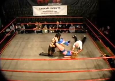 Christie Ricci vs Melissa Coates - Cherry Bomb Wrestling