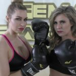 Born Fighters - Buffy Ellington vs Sunny Vixen - Women's Wrestling and Boxing Photoshoot - The Female Wrestling Channel