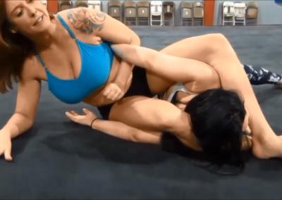 christie ricci vs black widow - cherry bomb wrestling