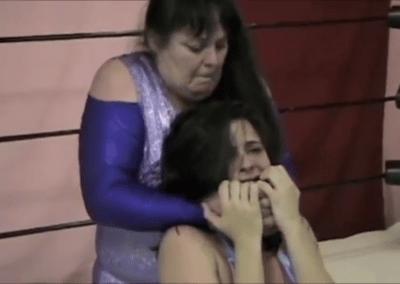 Christie Ricci vs Leilani Kay - cherry bomb wrestling