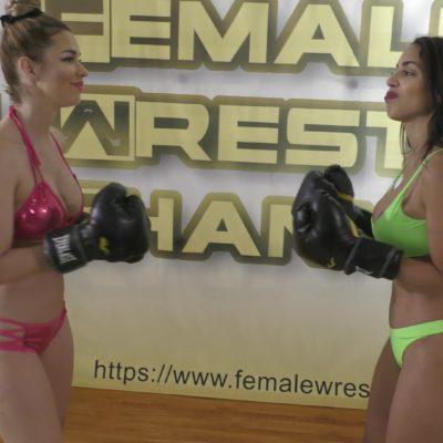 Boxing - Star Treatment - Part 2 - Eden Sins vs Sunny Vixen - Scripted Women's Wrestling