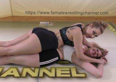 Full Body Press - Sunny Days - Monroe Jamison vs Sunny Vixen - Women's Wrestling Photoshoot - The Female Wrestling Channel