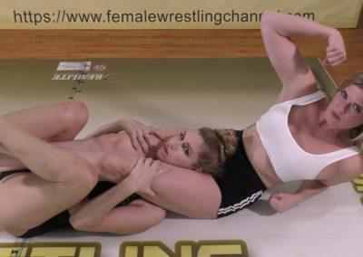 Headscissor - Sunny Days - Monroe Jamison vs Sunny Vixen - Women's Wrestling Photoshoot - The Female Wrestling Channel