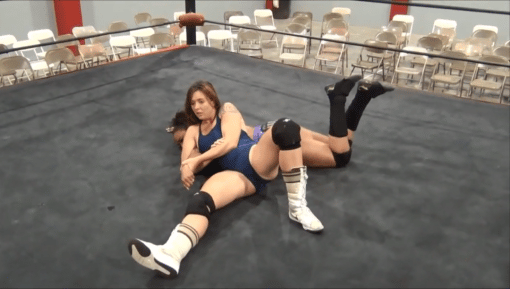 Christie Ricci vs Devyn Bates - Cherry bomb Wrestling