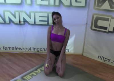 Sasha Subdue vs Sassy Kae - Real Competitive Women's Wrestling - The Female Wrestling Channel