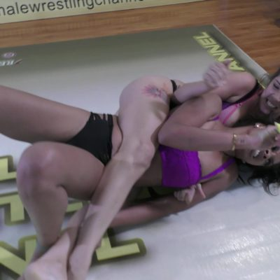 Bodyscissors - Sasha Subdue vs Sassy Kae - Real Competitive Women's Wrestling - The Female Wrestling Channel