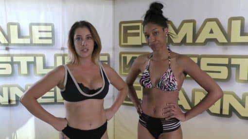 Holds Challenge - Sasha Subdue vs Sassy Kae - Competitive Female Wrestling - The Female Wrestling Channel